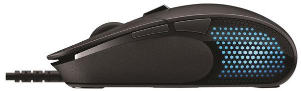 Мышь Logitech G G302 Daedalus Prime имеет шесть программируемых кнопок