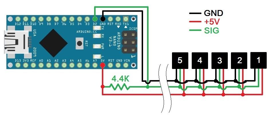 Термокоса под управлением Arduino и LabVIEW