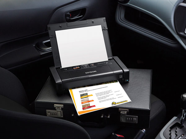 Принтер Epson WorkForce WF-100 можно использовать совместно со смартфонами и планшетами