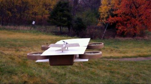 Находчивые энтузиасты разработали миниатюрный авианосец для дронов