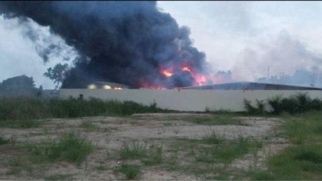 Пожар почти полностью уничтожил Bitcoin ферму мощностью в 5 МВт
