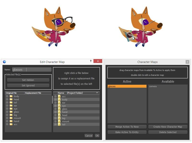 Создание скелетной анимации в Spriter