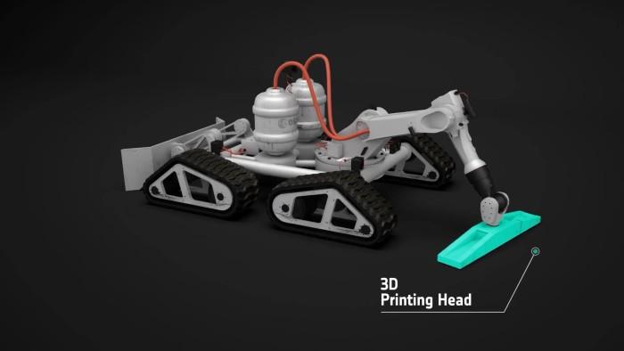 3D печать лунной базы