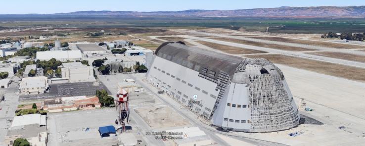 Google арендует аэродром Nasa на 60 лет