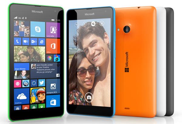 Основой Microsoft Lumia 535 служит SoC Qualcomm Snapdragon 200
