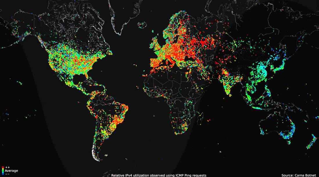 В любой момент времени около третьей части пользователей сети интернет находятся on line