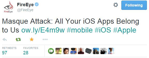 Apple прокомментировала ситуацию с уязвимостью Masque в iOS - 1