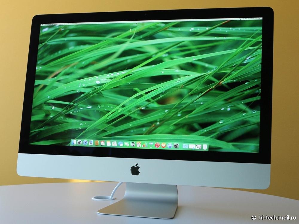 Обзор Apple iMac 27'' 5K — первый моноблок со сверхчётким экраном - 1