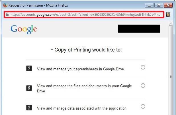 Печать из Google Apps Script - 2
