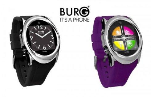 Презентация BURG 12   умного телефона хронометра