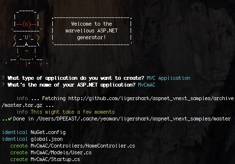 Пишем и запускаем приложения ASP.NET vNext на Маке - 1