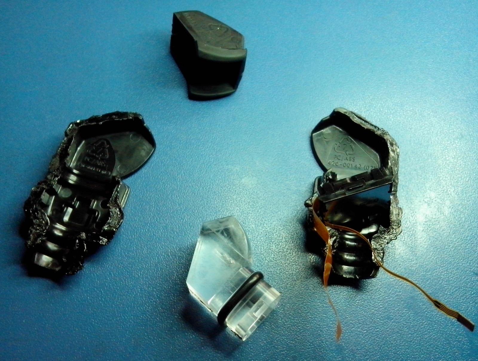 Разбор Heads-up Display из горнолыжной маски Recon Instruments MOD Live. Попытка починить… - 9