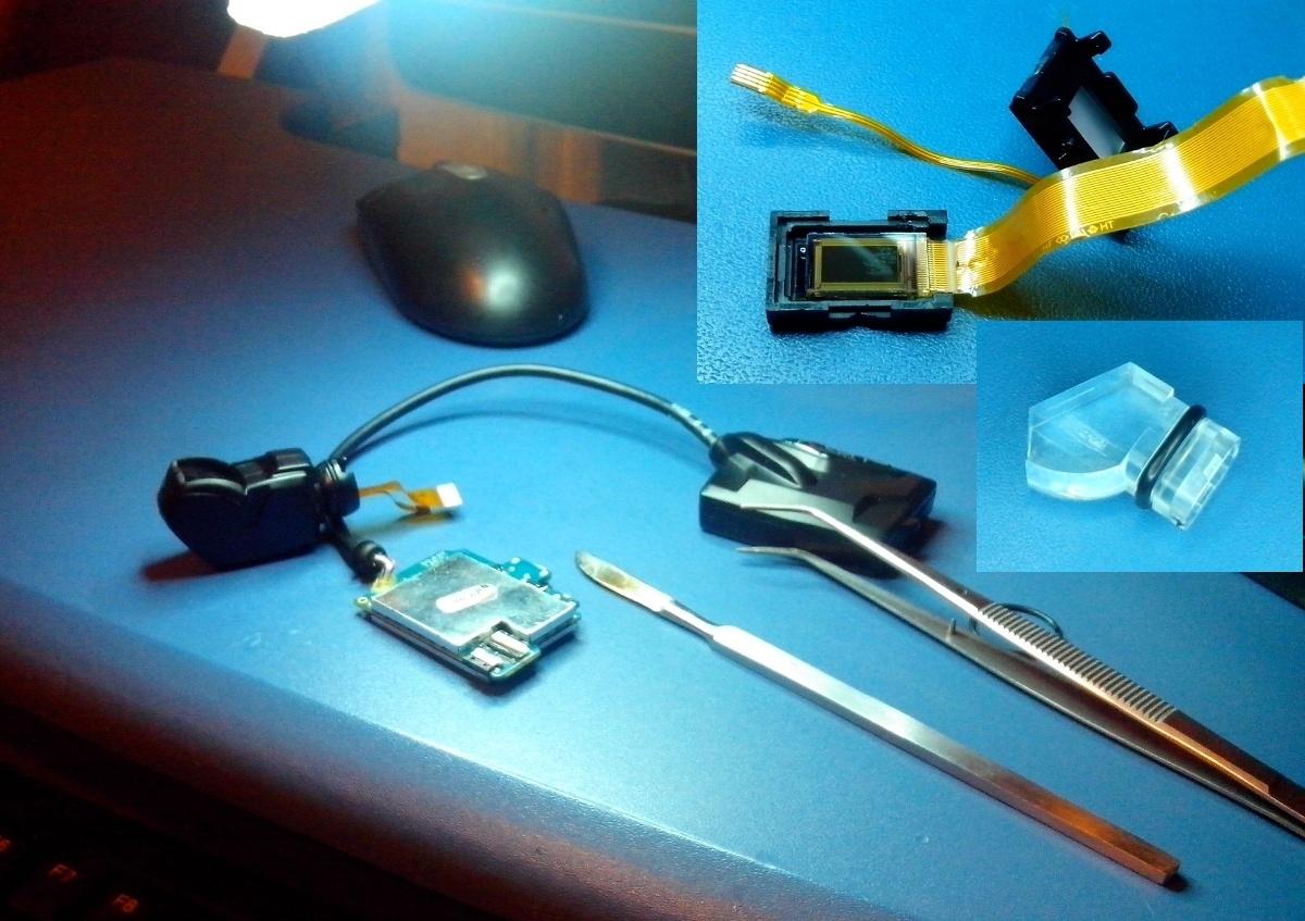 Разбор Heads-up Display из горнолыжной маски Recon Instruments MOD Live. Попытка починить… - 1