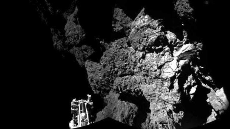 «Розетта» обнаружила органические соединения на комете Чурюмова — Герасименко - 1