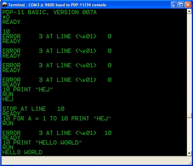 Восстановление PDP 11-04 - 22