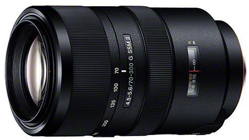 Продажи объективов Sony 70-300mm F4.5-5.6 G SSM II (SAL70300G2) должны начаться в феврале 2015 года