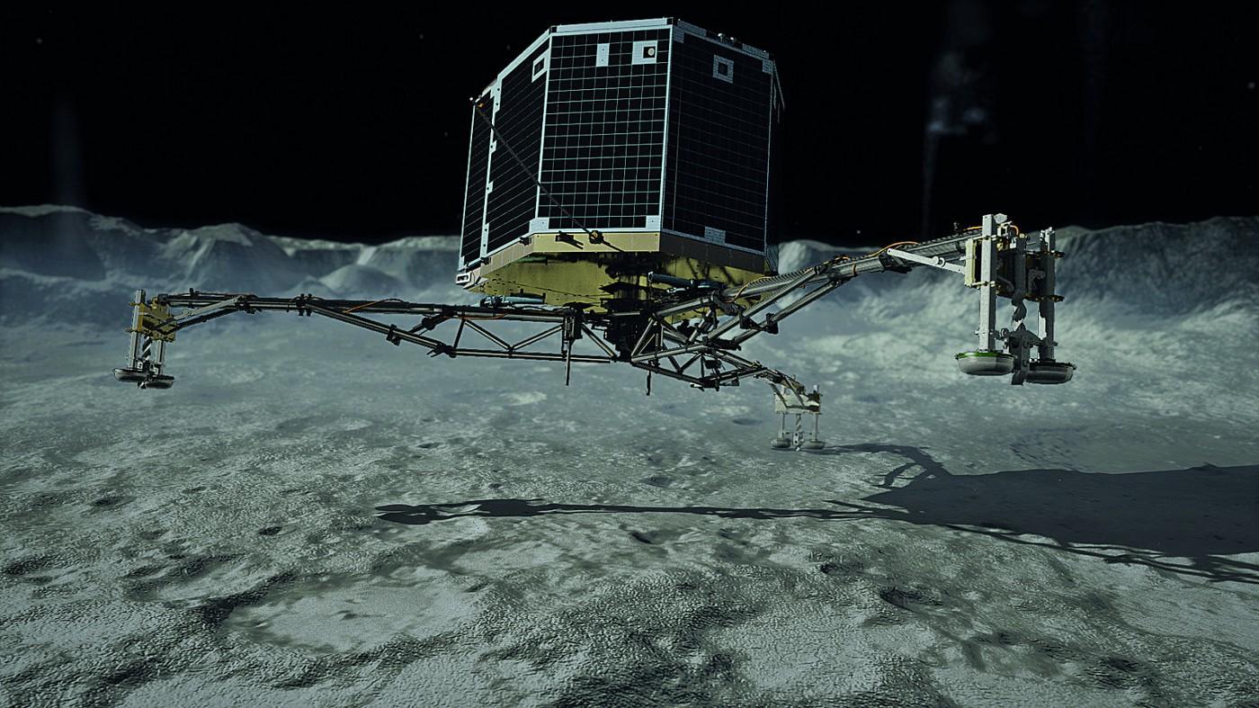 Если бы на Philae стоял РИТЭГ - 1