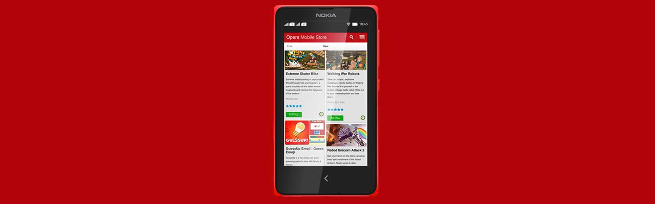 Магазин приложений Opera заменит Nokia Store в смартфонах и телефонах Nokia - 1