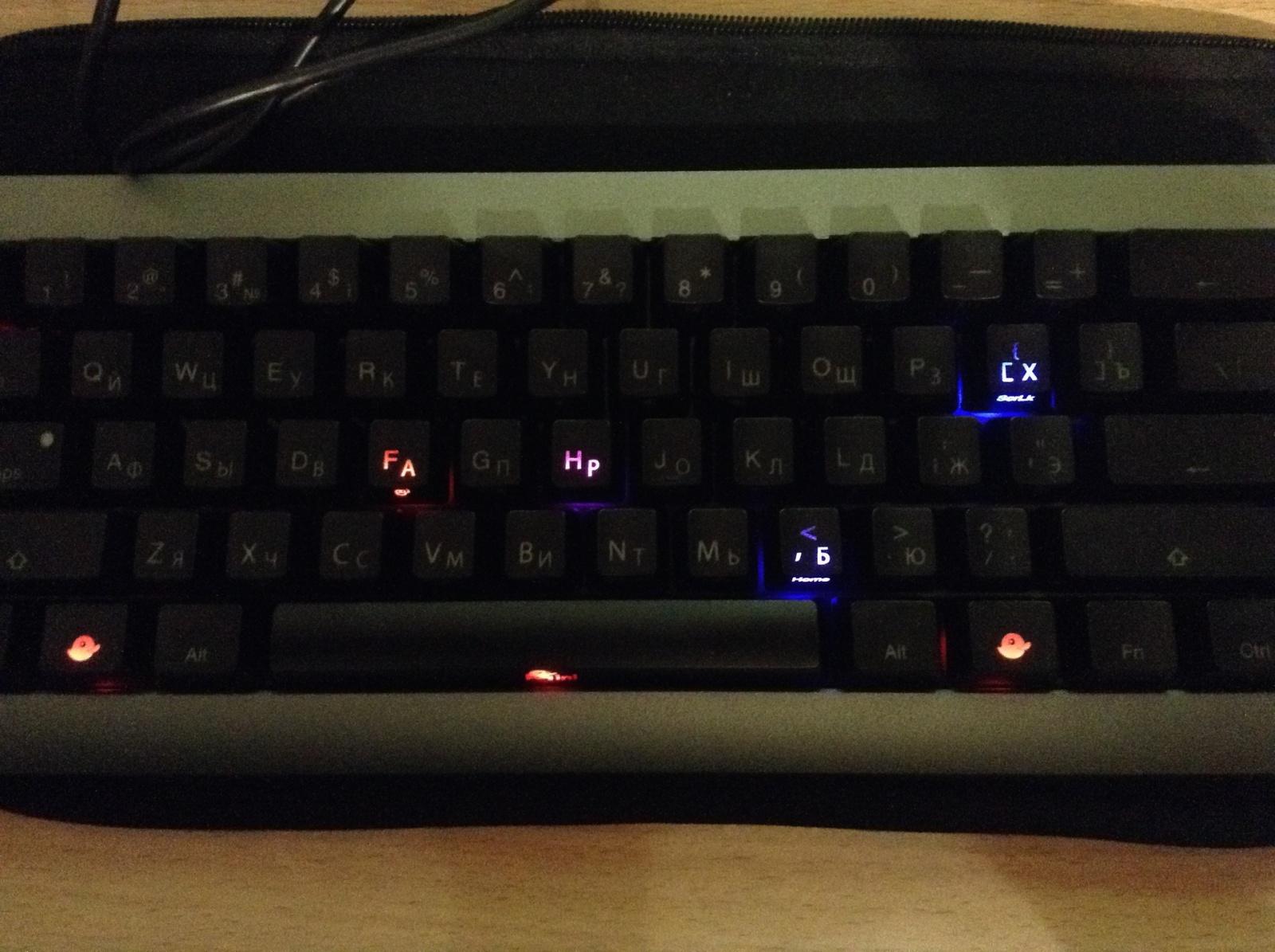 Обзор мини-клавиатуры Ducky Mini - 13