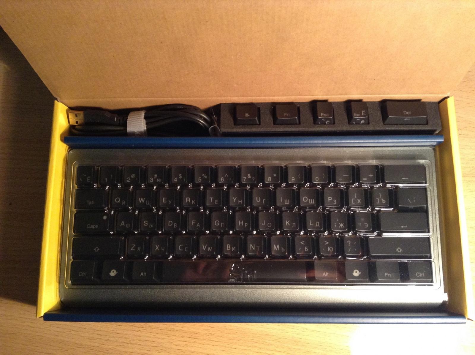 Обзор мини-клавиатуры Ducky Mini - 3