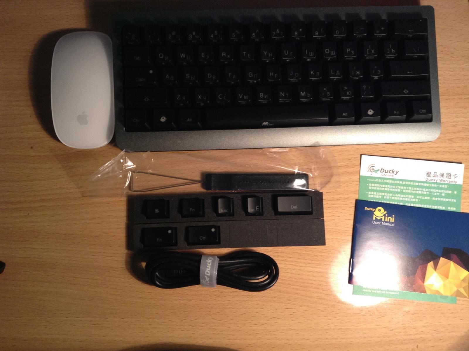 Обзор мини-клавиатуры Ducky Mini - 4