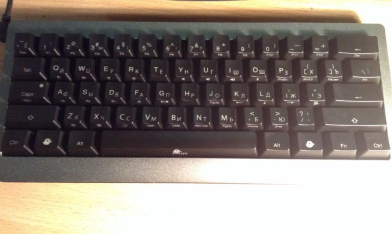 Обзор мини-клавиатуры Ducky Mini - 1
