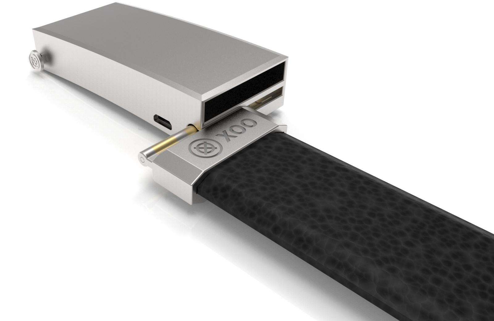 XOO Belt от Nifty: держит брюки и заряд смартфона - 4