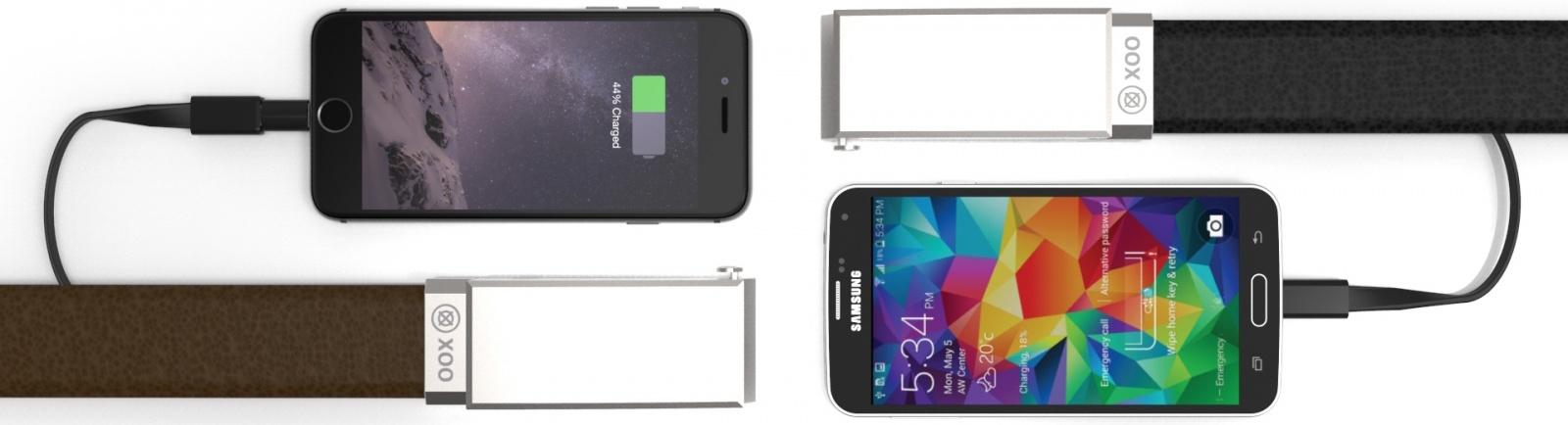 XOO Belt от Nifty: держит брюки и заряд смартфона - 1