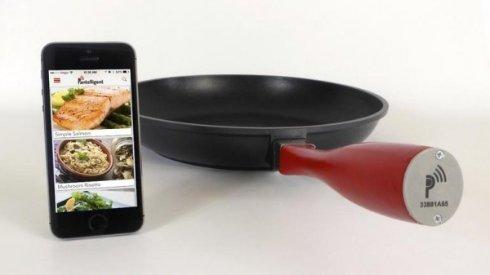 Pantelligent   умная сковорода, которая даст советы по приготовлению вкусно еды