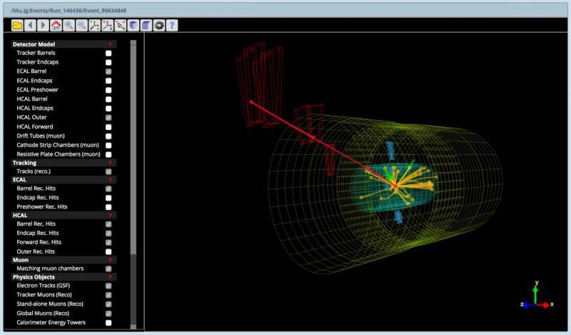Церн обнародовал данные по столкновениям частиц в сыром виде - 1