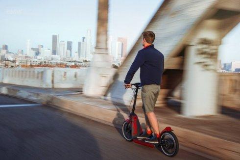 Презентация электрического скутера Mini Citysurfer Concept
