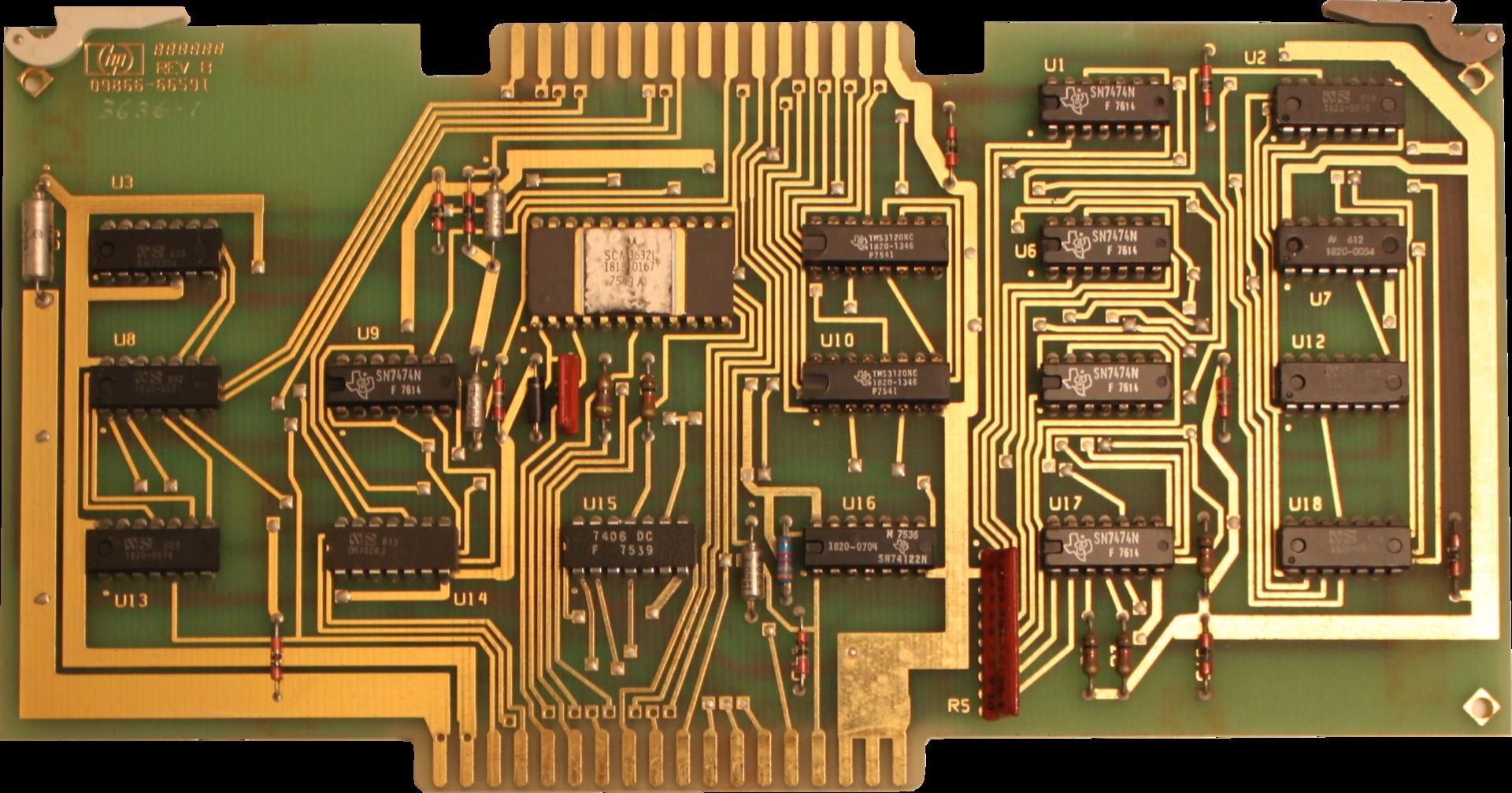 Восстановление HP 9830B - 11