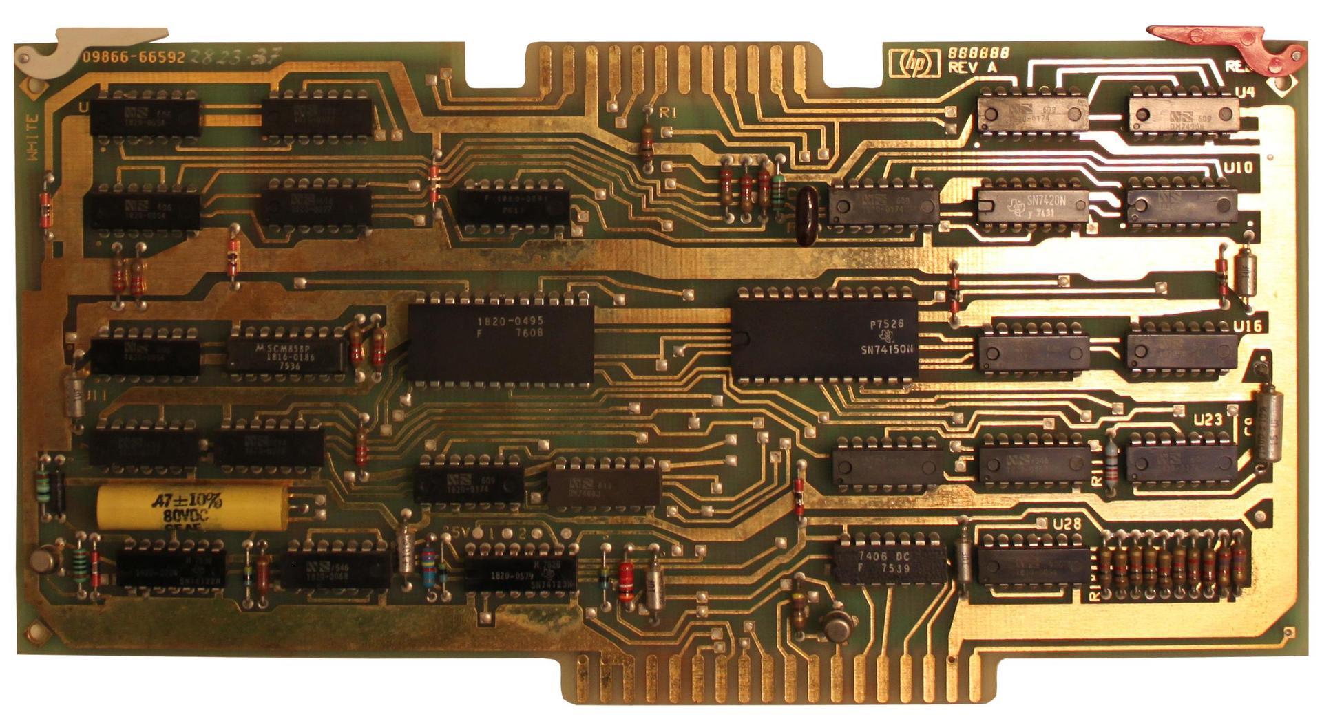 Восстановление HP 9830B - 12