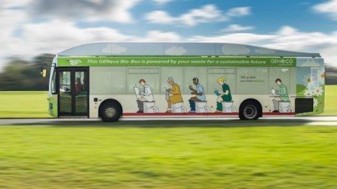 Британские ученые разработали автобус, который работает на экскрементах