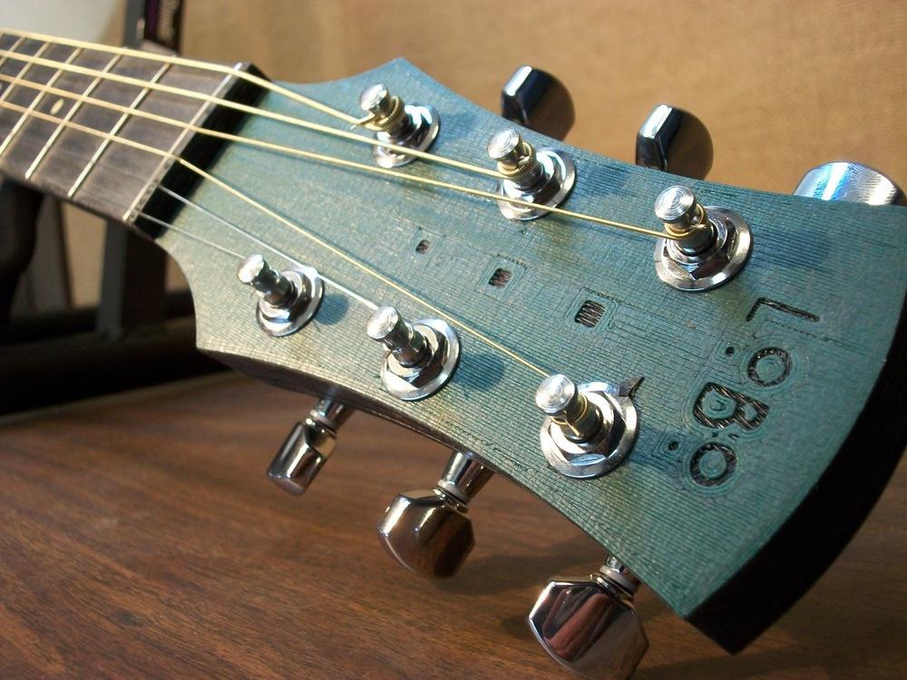 Гитара, полностью распечатанная на 3D-принтере - 1