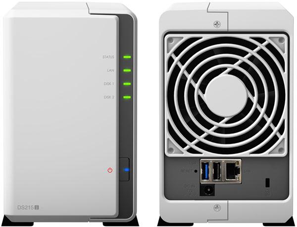 Основой хранилища Synology DiskStation DS215j служит двухъядерный процессор Marvell Armada 375 88F6720