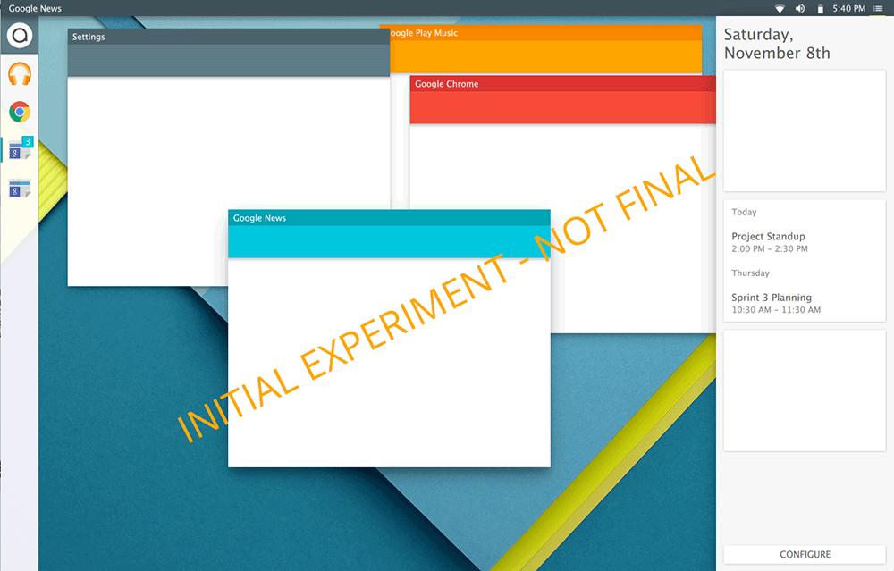 Linux с «материальным» дизайном - 1