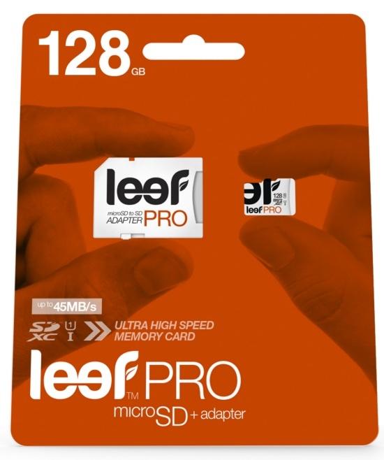 Leef Technology анонсировала карты памяти Leef PRO объемом 128 ГБ - 1