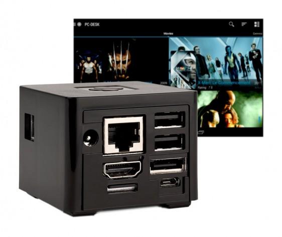 Мини-ПК CuBoxTV заключен в кубический корпус со сторонами 2 дюйма - 2