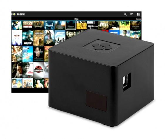 Мини-ПК CuBoxTV заключен в кубический корпус со сторонами 2 дюйма - 1
