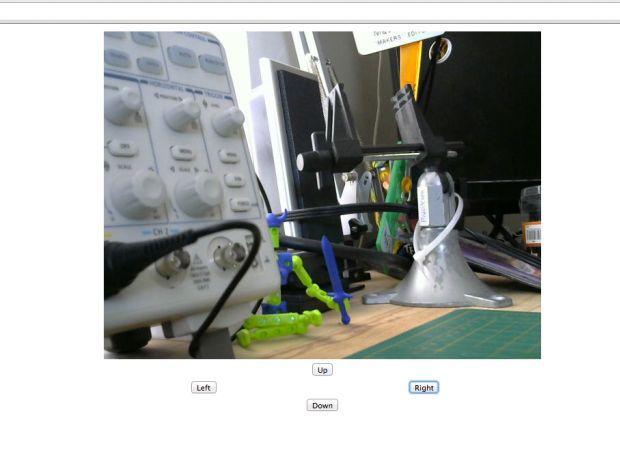 «Raspberry Eye» — вебкамера на сервоприводе - 27