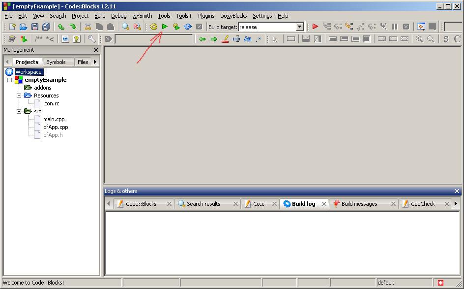 Креативное программирование: openFrameworks — установка и пример визуализации музыки - 4
