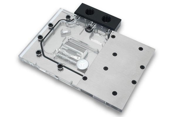 Водоблоки EK-FC980 GTX Strix можно соединять элементами FC Terminal или HD Tube