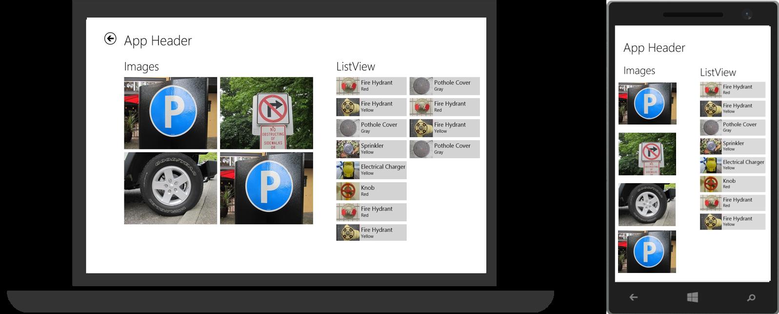 WinJS + универсальные приложения. Изучаем навигацию - 6