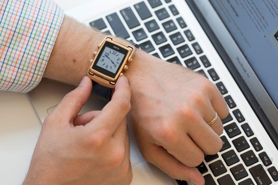 Кто стоит за «умными часами» Chronowing от HP? - 2