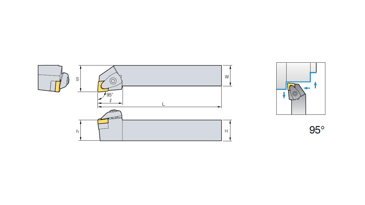 Токарная ЧПУ Siemens Sinumerik 840D sl: создание режущего инструмента [шот 02] - 9