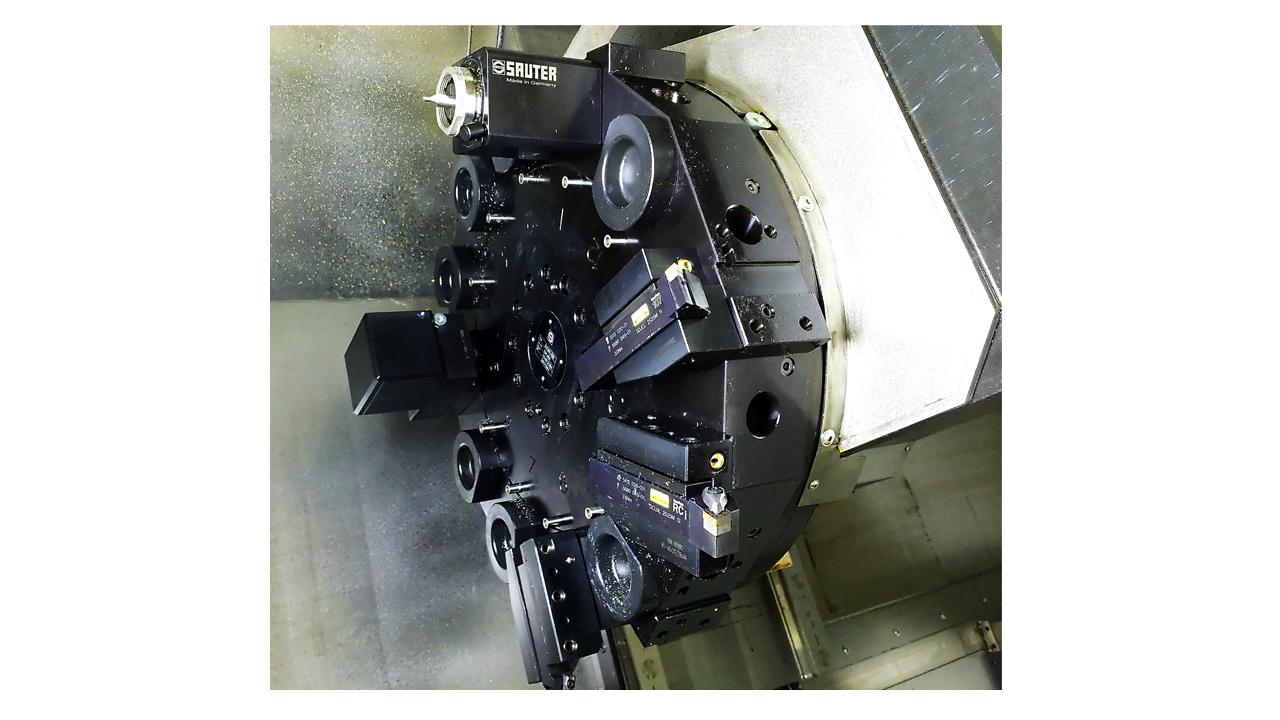 Токарная ЧПУ Siemens Sinumerik 840D sl: создание режущего инструмента [шот 02] - 1