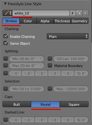 Принципиальные схемы в Blender. FreeStyle - 10
