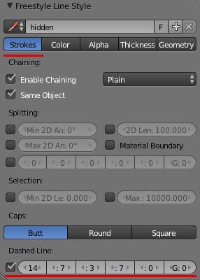 Принципиальные схемы в Blender. FreeStyle - 13