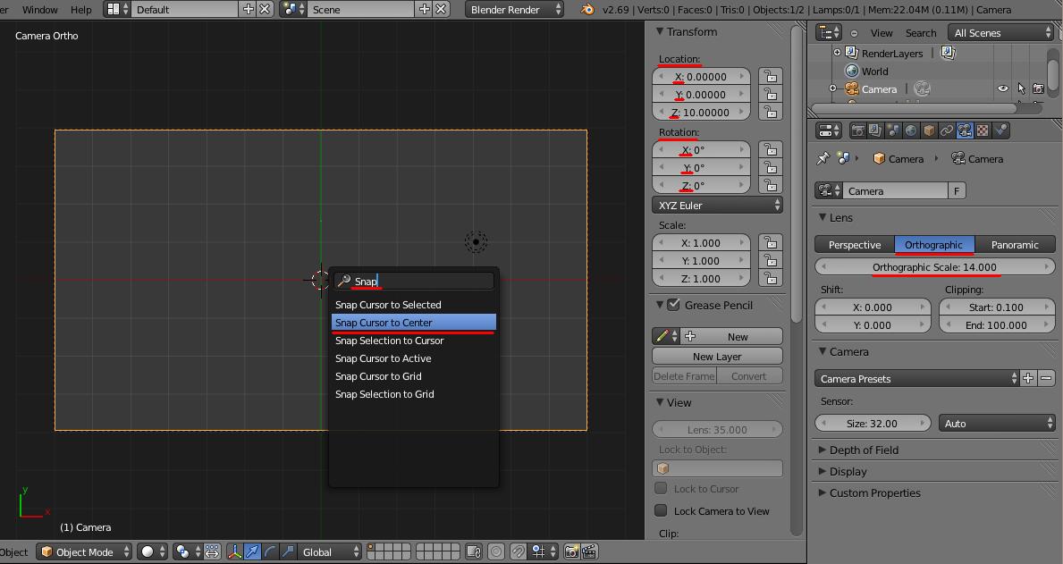Принципиальные схемы в Blender. FreeStyle - 21